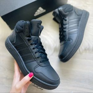 NWT Adidas Hoops 2.0 Mid Women's Shoes